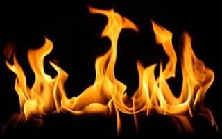 Видеть во сне пожар огонь